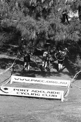 000131350034 (Harry Toumbos Photo) Tags: 35mm film ilford hp5 canon fd a1 f1 50mmf12l 35105mmf35 cycling cyclocross adelaide nationals