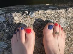 (NailClicks) Tags: men nailpolish feet foot