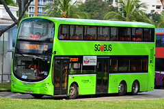 GoAheadSingapore GAS Wright Volvo B9TL SBS3417M (Sunny's transport pictures) Tags: goaheadsingapore gas wright volvo b9tl sbs3417m