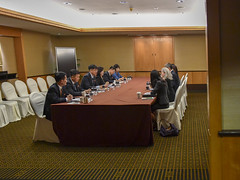Ambassador Kim Participates in Meetings With DPRK Vice Foreign Minister Choe Son Hui and DPRK MFA Officials (U.S. Department of State) Tags: singapore dprk choesonhui sungkim
