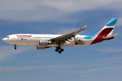 Eurowings | Airbus A330-200 | D-AXGA | Cuba logos | Las Vegas McCarran (Dennis HKG) Tags: eurowings ewg ew aircraft airplane airport plane planespotting canon 7d 100400 lasvegas mccarran klas las airbus a330 a330200 airbusa330 airbusa330200 daxga