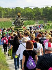 10-06-2018 They brought the Virgen de la Esperanza back from Calasparra to the sanctuari in a procession (JaapPostma) Tags: santuario de la virgen esperanza murcia spain procession calasparra