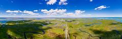Great Bay Boulevard (reclaimednj) Tags: panoramic nj greatbayblvd greatbayblvdwma oceancounty littleeggharbortownship newjersey unitedstates us aerialphoto