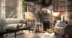 I Dreamt Of Light (Sienna Skye Foxdale) Tags: applefall nutmeg dustbunny ionic consignment theloft blackbantam kustom9 scarletcreative lucaslameth belleepoque secondlife homeandgarden homedesign interiordesign indoors digitalart cheekypea