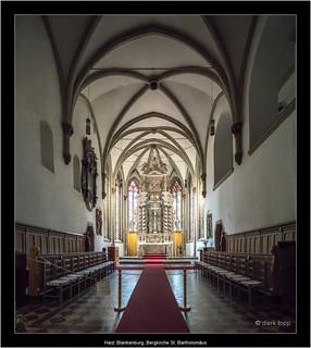 Harz: Blankenburg, Bergkirche St. Bartholomäus
