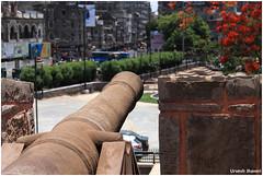 Protection from??? - Surat Fort (Urvesh Jhaveri) Tags: surat fort chowk tapi river cannons india gujarat urvesh jhaveri