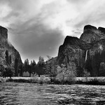 Taking in Yosemite National Park for One Last Time (Black & White) thumbnail
