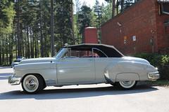 1950 Chevrolet De Luxe (crusaderstgeorge) Tags: crusaderstgeorge classiccars cars chevrolet carmeet cool 1950chevroletdeluxe 1950 chevroletdeluxe americancars americanclassiccars americancarsinsweden veterancar chrome årsunda sweden sverige