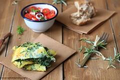 Frittata con le erbette (Giovanna-la cuoca eclettica) Tags: stilllife uova primavera verdure vegetables veg food