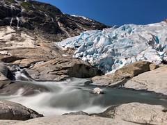 Nigardsbreen (ineowsianny63) Tags: jostedalsbreen norway noorwegen view longexposure rocks mountain gletsjer glacier meltingglacier nigardsbreen iphone8plus