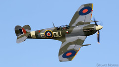 Spitfire LF Mk Vc AR501  G-AWII - The Shuttleworth Collection Old Warden (stu norris) Tags: spitfirelfmkvc ar501 gawii theshuttleworthcollection oldwarden spitfire spitfirevc 310czechsquadron ww2 fightercommand raf100 airshow aviation vintage classic historic warbird