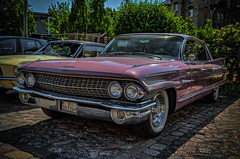 PINK CADILLAC (Peter's HDR-Studio) Tags: petershdrstudio hdr cadillac classiccar klassiker oldtimer pink car auto