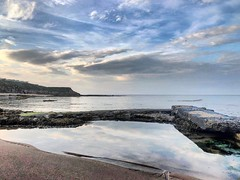 (lewi1553) Tags: uk england northumberland namaste relax chill tranquility calm coastal coast reflections weather clouds sea scenic berwickupontweed
