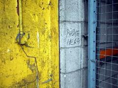 Everything Must Go - 31 (the justified sinner) Tags: justifiedsinner panasonic 17 20mm gx7 birmingham wholesalemarkets flower fruit meat fish vegetable market digbeth frictionarts urbex performance installation phone graffiti