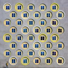 Bubbling Up (Paul Brouns) Tags: circles facade transformation edit fantasy photography imagination