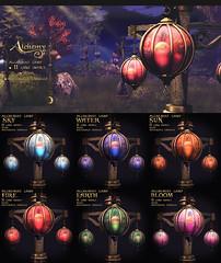 Alchemy - Alchemist Lamps (Dani @ Birdy/Foxes/Alchemy) Tags: sl secondlife mesh lantern lamp fantasy alchemy materials