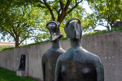 Hirshorn Museum and Sculpture Garden (Phil Roeder) Tags: washingtondc leica leicax2 statue sculpture hirshornmuseum artmuseum art
