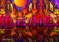 Hot Corners (brillianthues) Tags: city urban philadelphia corner fractal colorful collage photography photmanuplation photoshop
