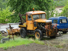Latil Timber Tractor. (Renown) Tags: truck lorry tractor timber latil france 4x4