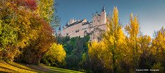 Alcázar de Segovia (Ignacio Ferre) Tags: paisaje landscape panorama segovia comunidaddecastillayleón españa spain nikon alcázar alcázardesegovia castillo castle otoño autumn fall colores colors trees árbol edificio building arquitectura airelibre patrimonionacional nationalheritage heritage torre tower