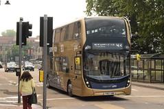 SW 10903 @ Cheltenham Promenade (ianjpoole) Tags: stagecoach west alexander dennis enviro 400mmc yx67vbm 10903 working gold route 93 cheltenham promenade arle court park ride