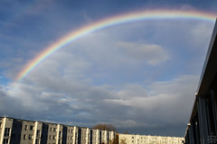 Rainbow / @ Dresden / 2010-11-13 (astrofreak81) Tags: rainbow regenbogen sky clouds