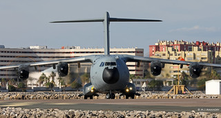 Royal Air Force Airbus Military A400M Atlas C1 ZM406 at RAF Gibraltar/LXGB
