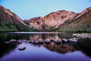 Mammoth Mountain: Convict Lake Sunrise