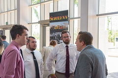 Professional Selling Class Networking Event with local employers. Photo Credits- Maximilian Trullenque-65 (FGCU   University Marketing & Communications) Tags: lutgertcollegeofbusiness students business professionalsellingclass employers fgcu collegeofbusiness photocreditmaximiliantrullenque