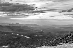 Smoke mountain view