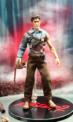2017-Army of Darkness' Ash Action Figure at SDCC-01 (David Cummings62) Tags: sandiego ca calif california comiccon con david dave cummings 2017 dccomics actionfigures armyofdarkness ash
