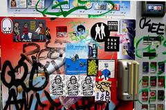 stickers in Hamburg (wojofoto) Tags: stickers stickerart sticker wojo hamburg germany deutschland streetart wojofoto wolfgangjosten hnrx