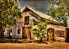 Casa Funebre (Helen Orozco) Tags: sliderssunday hss photoshop casafunebre bernalillo sandovalcounty