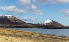 (geh2012) Tags: ísland iceland kothraunskúla seljafell hraunsfjörður fjall mountain ský cloud snjór snow sjór sea gunnareiríkur geh gunnareiríkurhauksson hraun lava