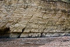 Falaise de Ste-Honorine-des-Pertes, Calvados, Normandie (Christian Giusti) Tags: géologie geology géomorphologie geomorphology géographie geography paysage seascape patrimoinenaturel naturalheritage bajocien bajocian stratigraphic stratigraphy falaise cliff faille fault lignedefaille faultline