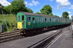 Hampshire 'Thumper' Unit No.1125, moves out of the Yard at Ropley, ready to take the 14.40 service back to Alresford. Mid Hants Railway Diesel Weekend. 03 06 2018 (pnb511) Tags: midhantsrailway train engine diesel demu dieselelectricmultipleunit 205025 1125 hampshireunit thumper