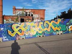 random graff (Thomas_Chrome) Tags: graffiti streetart street art spray can wall walls tampere suomi finland europe nordic illegal vandalism