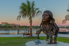 Ulele Bust (Lost Tribes) by Vala Ola (Photomatt28) Tags: florida tampa ulele waterworkspark unitedstates us