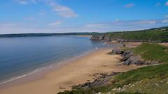 Three Cliffs Bay, The Gower (mpb_17) Tags: