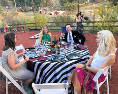 038 The Jennifer And Fofo Table (saschmitz_earthlink_net) Tags: 2018 california angelesnationalforest losangelescounty sylmar reptacularranch kevinjessicawedding