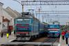 UZ CHS4-106 and ER9P-195, Ternopil, 2018/05/22. (lg-trains) Tags: ukraine railways trains trainspotting chs4
