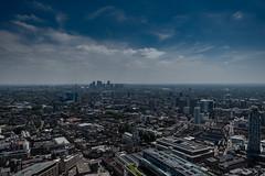 London Cityscape (antonywakefield) Tags: buildings canarywharf city cityscape colour greatbritain london photography river sky skyline streets thames tourism urbanlandscape blue