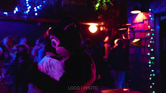 8M5A6039-111 (loboloc0) Tags: furries frolicparty frolic party furry club dance suit suiter fur fursuit dj sf san francisco indoor people costume performer animal blur