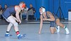 Columbia v Bucknell (Leo Tard1) Tags: canon eos 5d iv usa ny nyc wrestling collegewrestling wrestle wrestler male singlet indoor sport sportfight athletic athlete leotard dual 2018 columbiauniversity lions bucknelluniversity bisons 149lb jacobmacalolooy sethhogue ing
