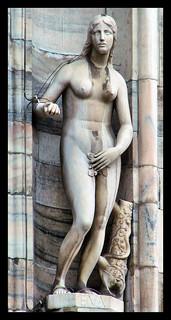 Eva, statua del Duomo di Milano