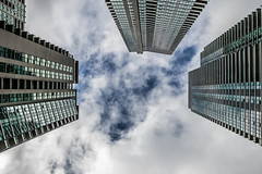 20180604.17.40-295 (HisPhotographs.com) Tags: toronto ontario canada downtown building buildings lookingup clouds cloudy bluesky glass architecture urban urbanjungle condos condominiums