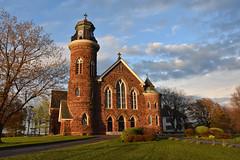 PEI - 2018-06-005 (MacClure) Tags: canada pei princeedwardisland souris church stmaryschurch stone cross