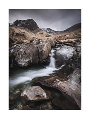 Deepdale (Matt Oliver.) Tags: lakedistrict water waterfall rocks landscape moody uk