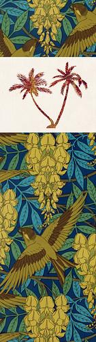 Marque-pages // 20x5.5cm // Palmiers