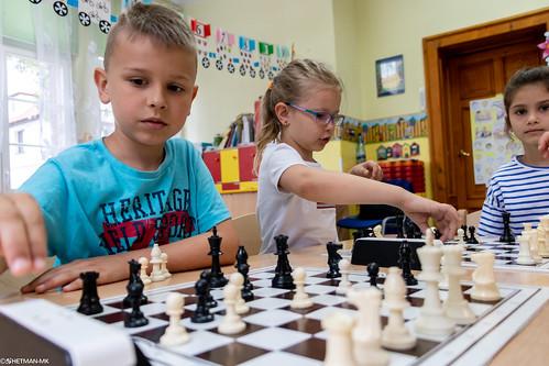 V Turniej Szachowy o Mistrzostwo Przedszkola Miejskiego Nr 1-8